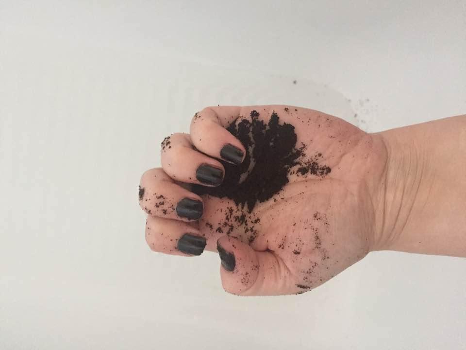 naturelle cosmetics coffee scrub review