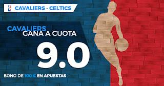 Paston Megacuota NBA: Cleveland Cavaliers vs Boston Celtics 18 octubre