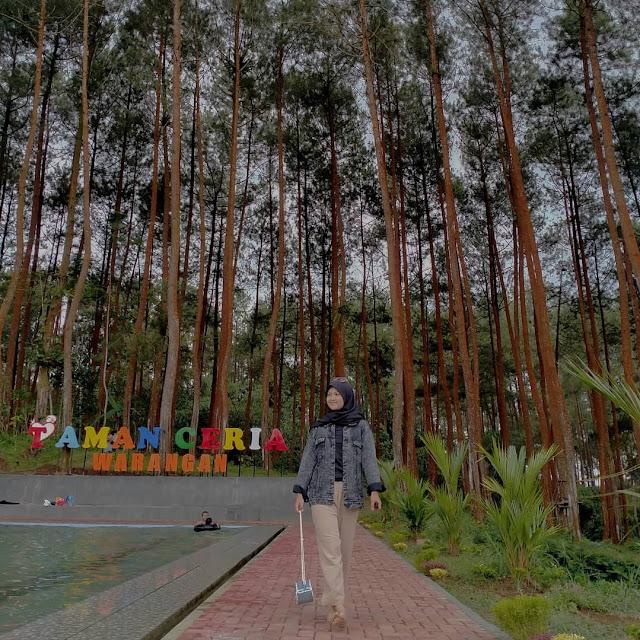 Kolam Renang Taman Ceria Warangan Wonosobo