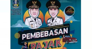 Info Pemutihan Pajak Kendaraan Bermotor Jawa Timur
