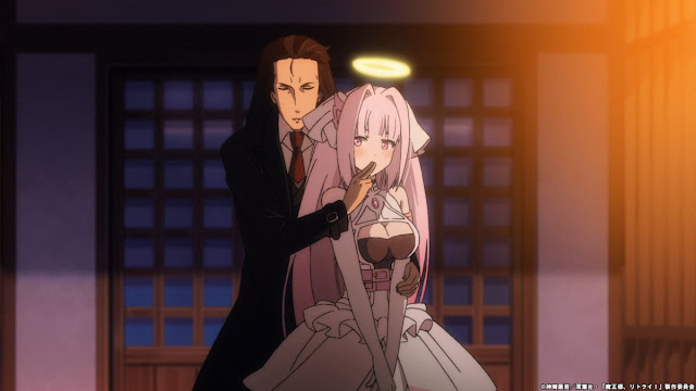 Maou-sama, Retry! Episode 12 Sub Indonesia: Angel White and Demon Lord