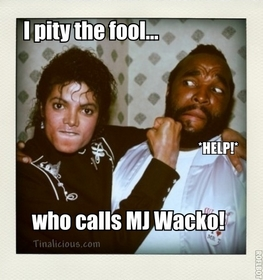 MJ Mr T Meme