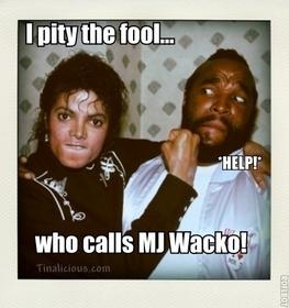 MJ Mr T Meme