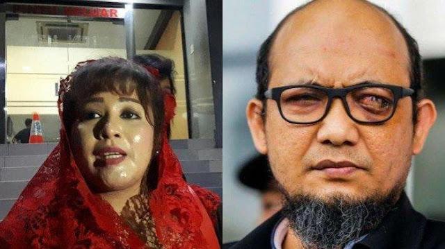 Dewi Tanjung Akan Dilaporkan Balik