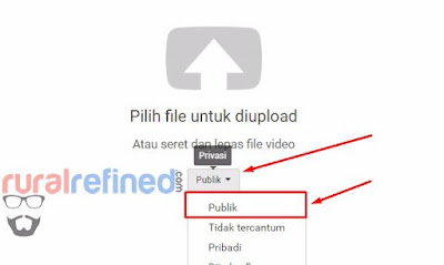 cara upload ke youtube mudah