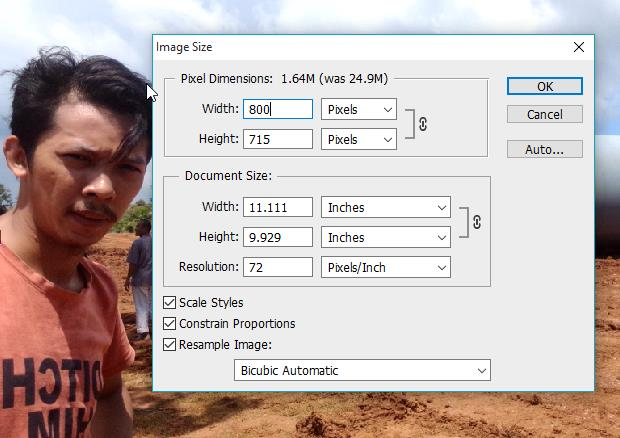 Cara Mengecilkan Dan Membesarkan Ukuran Foto Di Photoshop Grafis Media