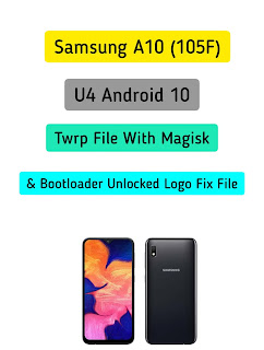 Samsung A10 Android 10 twrp