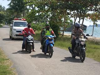 Kepala Puskesmas Penuba bersama Instansi yang ada di kecamatan Selayar Berikan Himbauan ke  Warga Pentingnya 3M