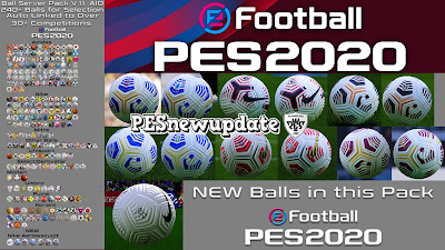 PES 2020 Ball-Server Pack by Hawke