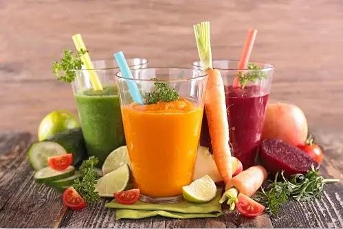 4 أنواع عصير الخضروات الأكثر صحية