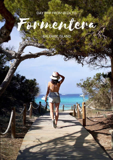 DAY TRIP FROM IBIZA TO FORMENTERA, BALEARIC ISLAND