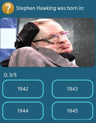 Stephen Hawking was born in? MY TELENOR