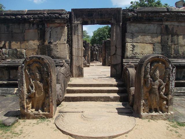 Ruinas en Sri Lanka