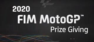 Entrega de premios en directo MotoGP Moto2 Moto3 Portimao 22-11-2020