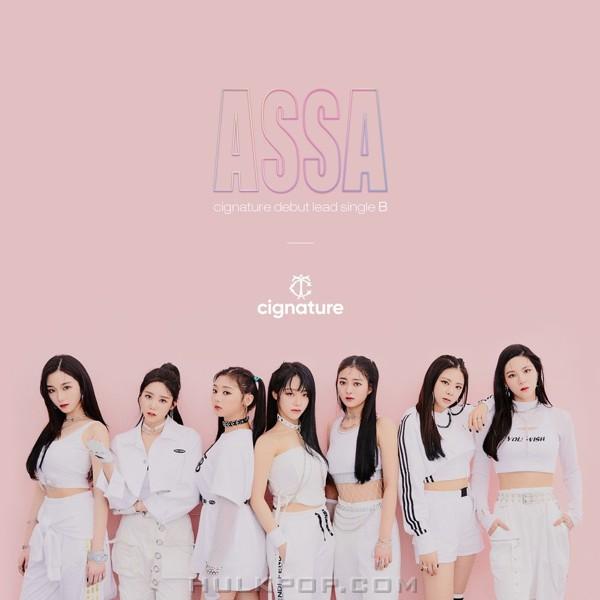 cignature – cignature debut lead single B 'ASSA'