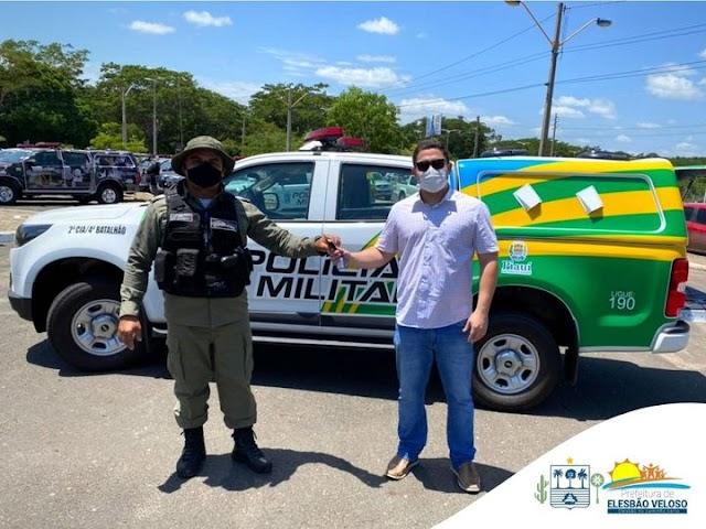 Elesbão Veloso: GPM recebe nova viatura.