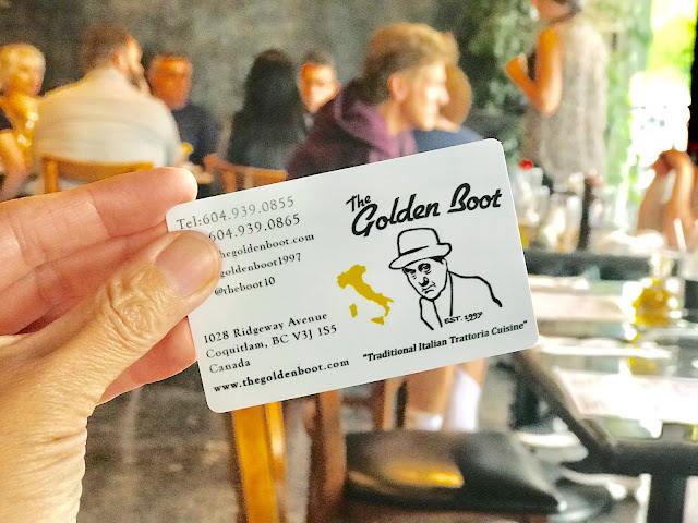 Goldenbootrestaurant, CoquitlamBC, Austinheights, italianfood, hellofbc, BCfoodie