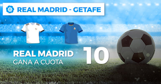 Paston Megacuota Real Madrid vs Getafe 19 agosto