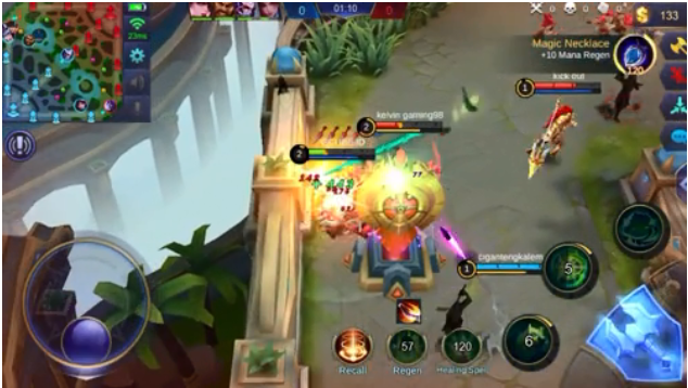 Gameplay Belerick Mobile Legends