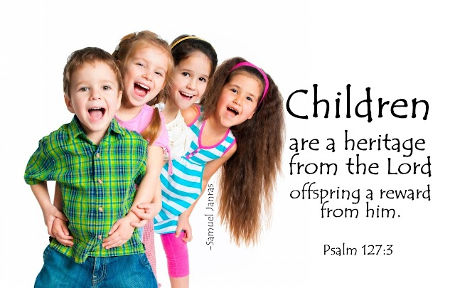 Children Heritage Bible Quote