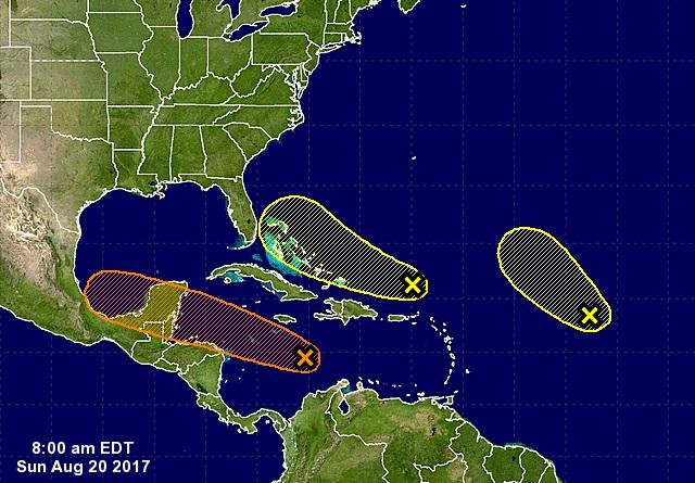 National Hurricane Center Invest 92L