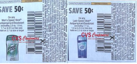 speed stick coupons