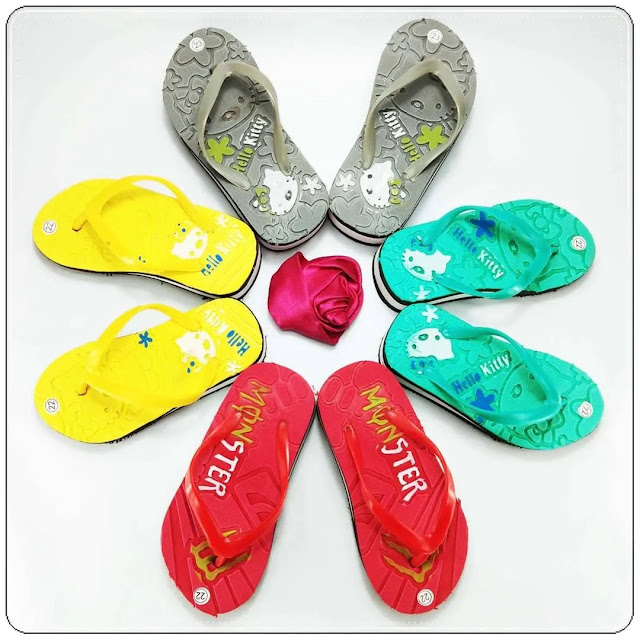 Mau Jual Sandal Lucu ??? Sandal HK Tebal Baby    Sandal Spon Murah
