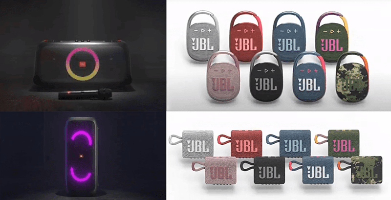 JBL announces the Go 3, Clip 4, Xtreme 3, Partybox On-the-Go, and Partybox 310 speakers