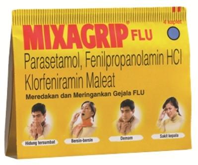 Harga Mixagrip obat Flu dan Batuk Terbaru 2017