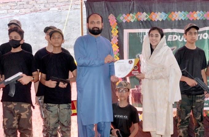 ایچ سی سی ایس ایجوکیشنل سسٹم سہام روڈ راولپنڈی میں مسلح افواج کو خراج تحسین.