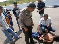 Dikejar Bak Film Action, Pencuri Truk Dibekuk Diatas Jembatan Tumbang Nusa