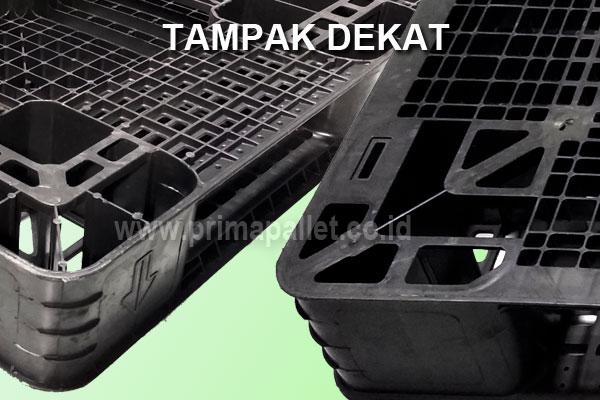 Pallet Plastik Bekas Ukuran 1000 x 1000 x 120 mm