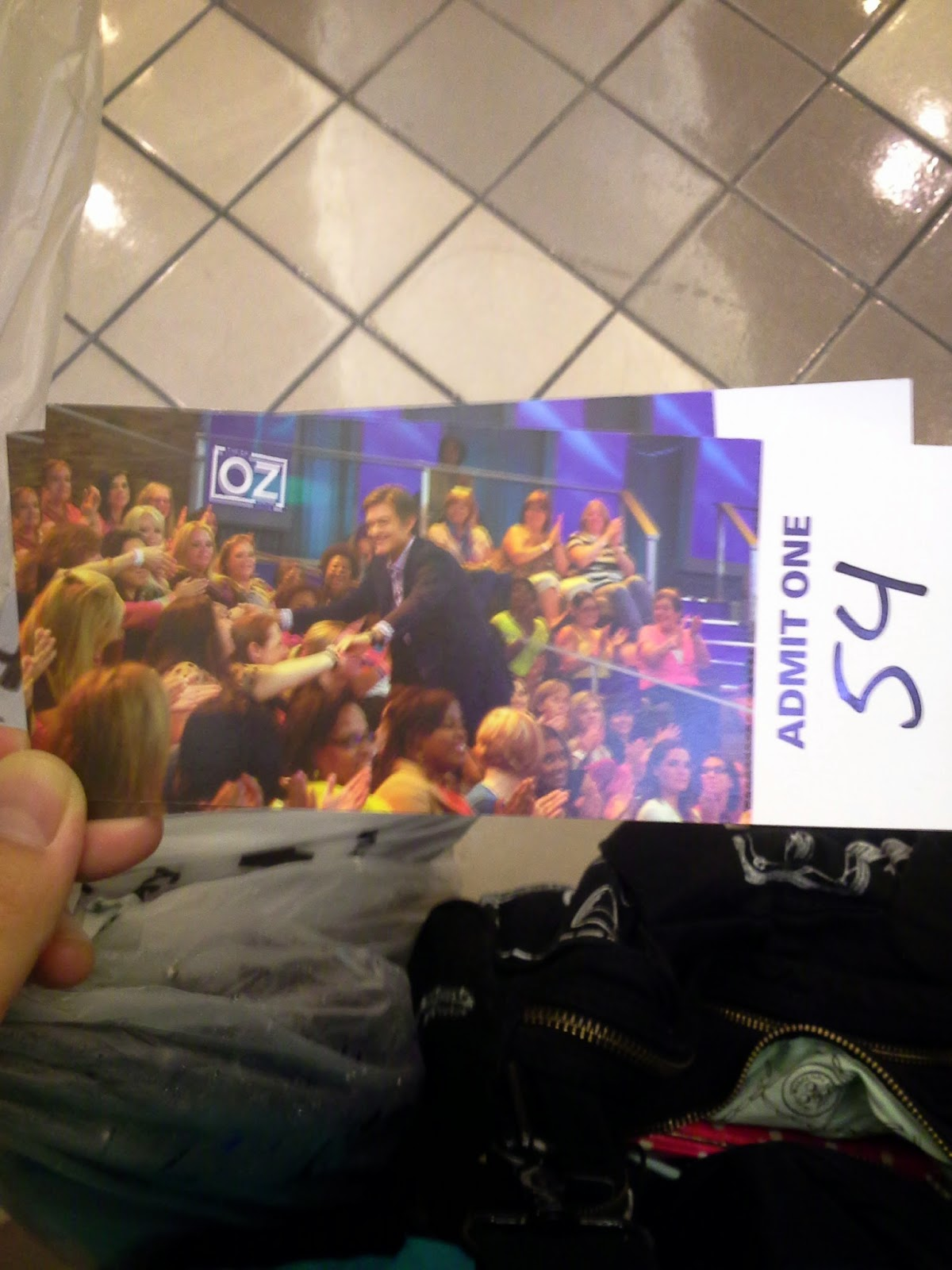 Life in Jenneral : Dr  Oz Show Audience Experience