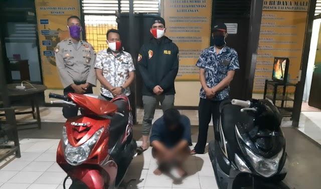 Polsek Talang Padang Tangkap Pelaku Pencuri Dua Motor, Dua Rekannya dalam Pengejaran