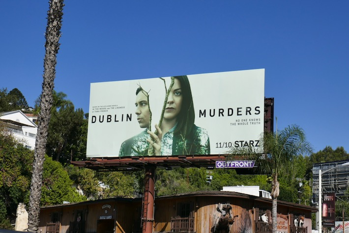 Dublin Murders TV series billboard