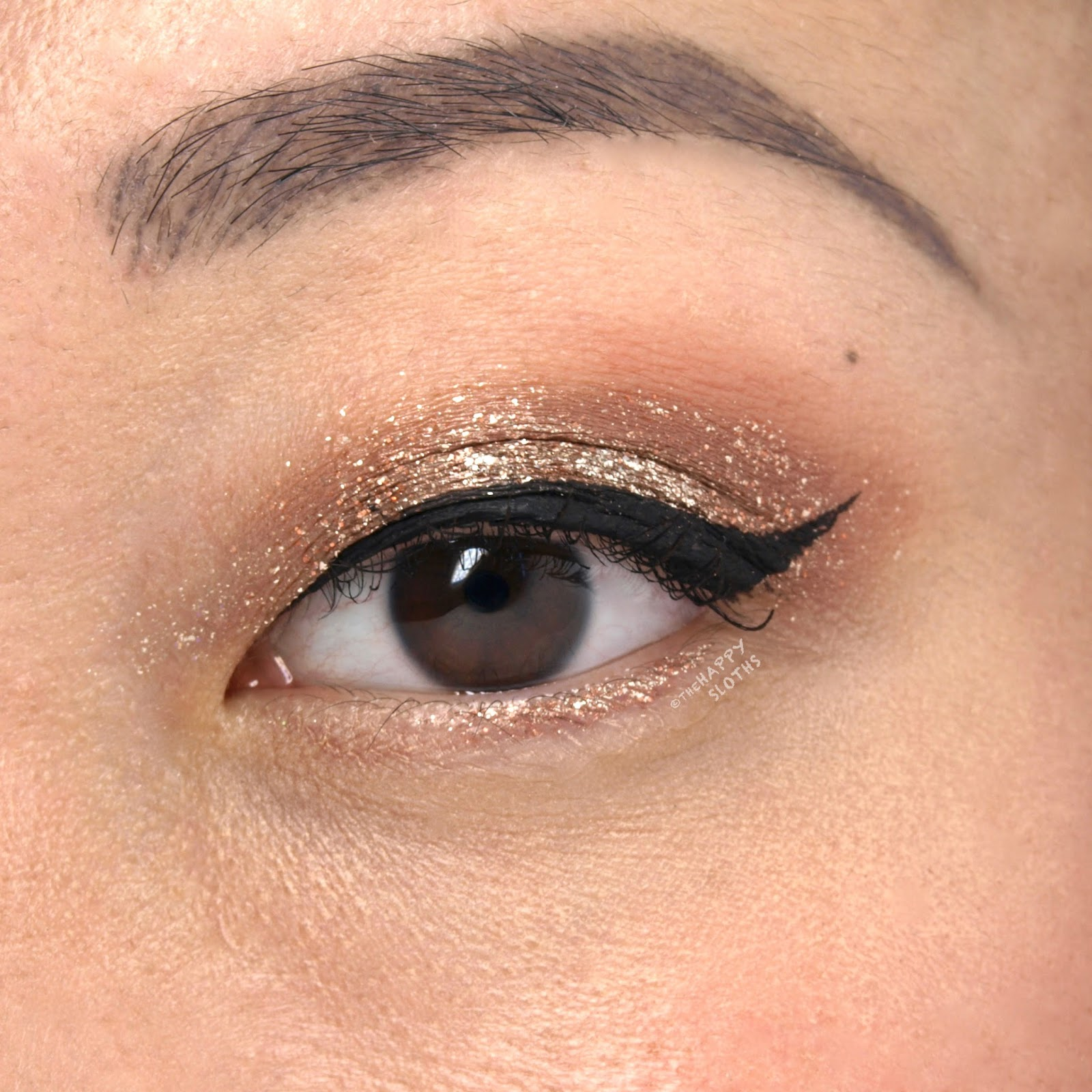 "Stila Magnificent Metals Glitter & Glow Liquid Eye Shadow in ""Bronzed Bell"": Review and Swatches"