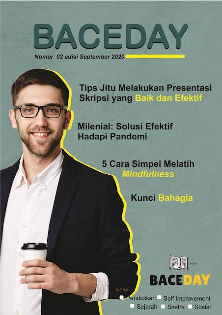 Cover Majalah Baceday Edisi September 2020