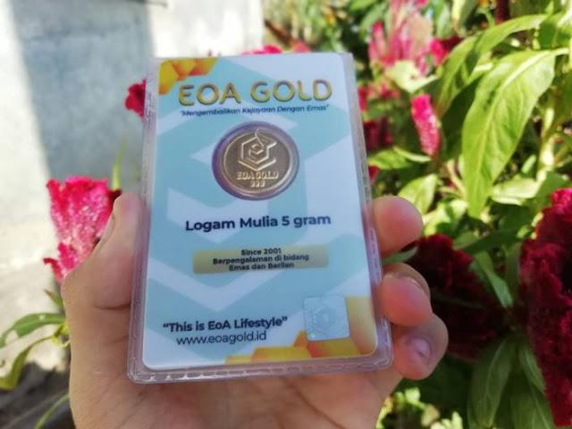 Kekurangan Emas EOA Gold