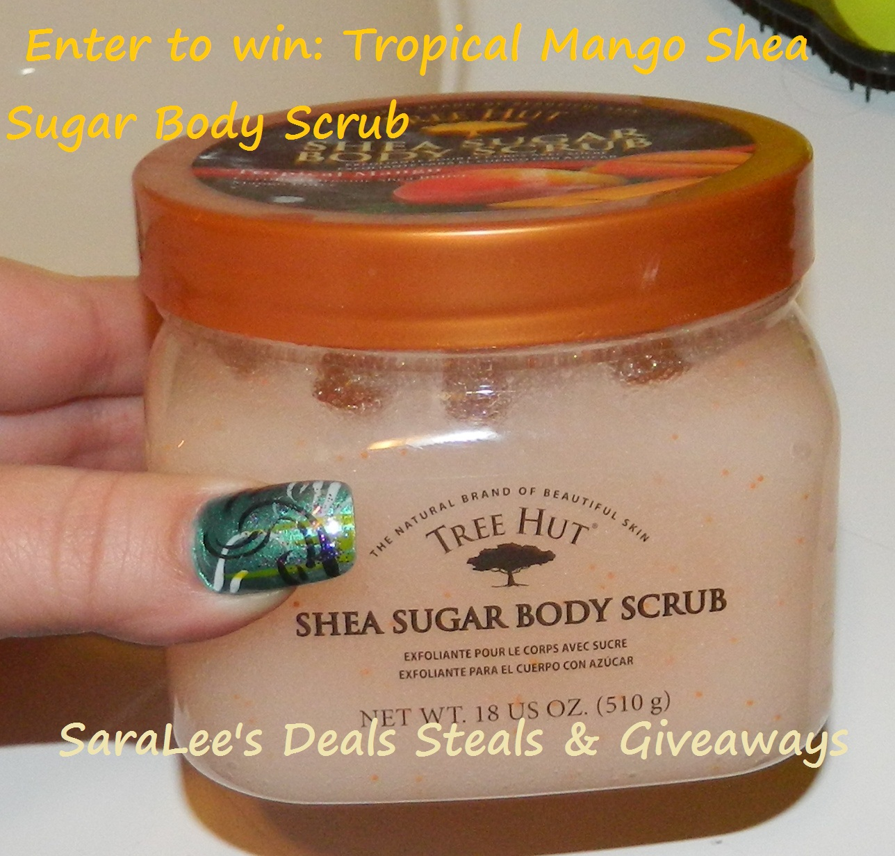 Mango Shea Sugar Body Scrub Giveaway