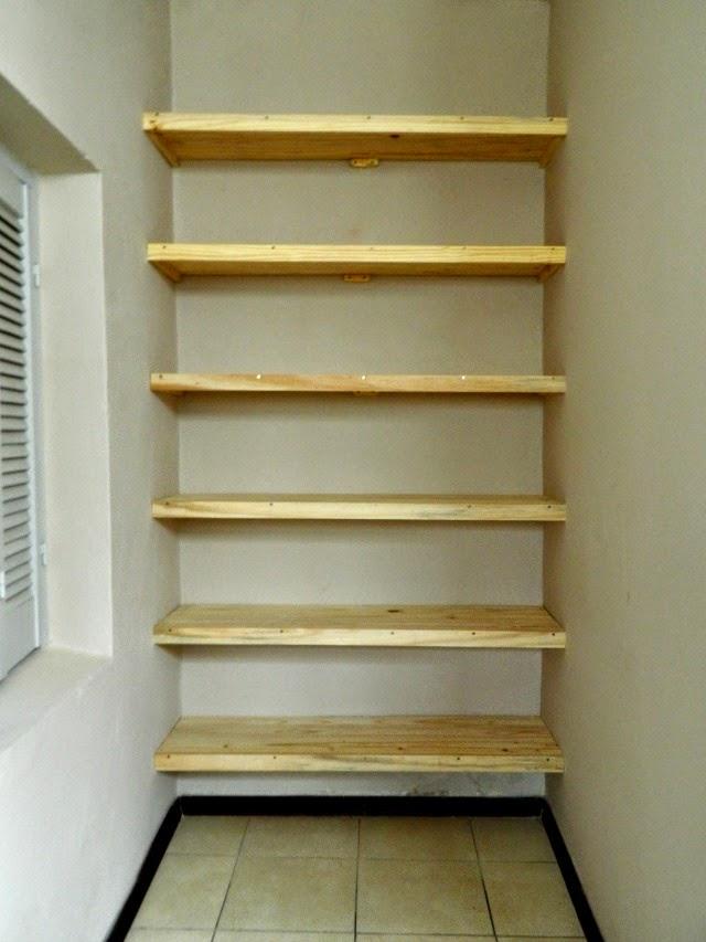 organizar con estantes