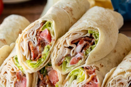 CHICKEN BACON RANCH WRAPS RECIPE