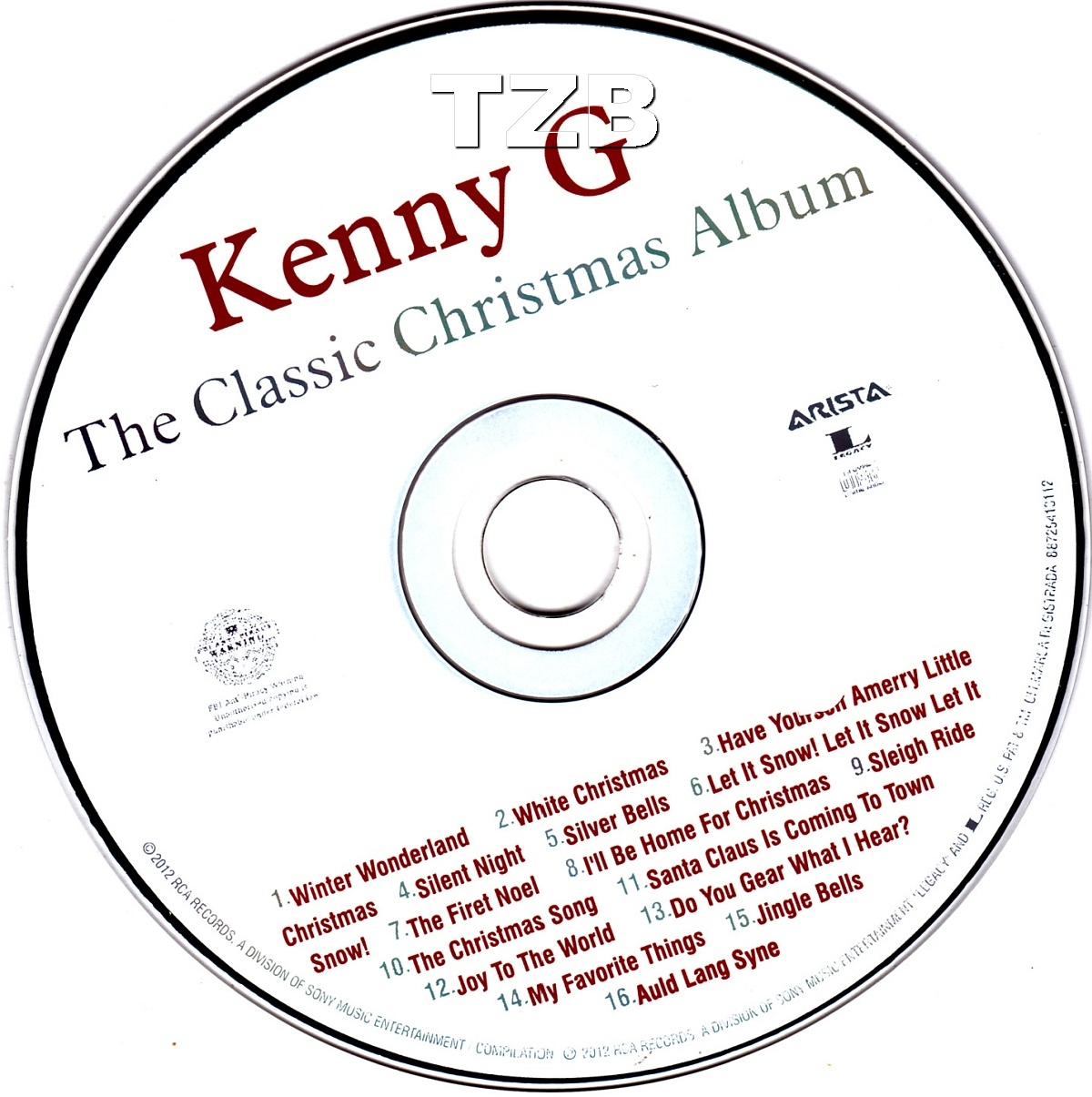 Silent Night by Kenny G -The Classic Christmas Album All