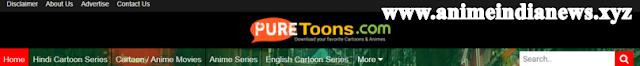 Puretoons.com - Anime Downloading Website HD