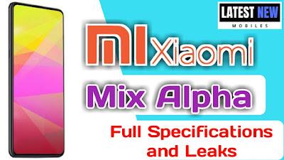 Xiaomi Mix Alpha Specification