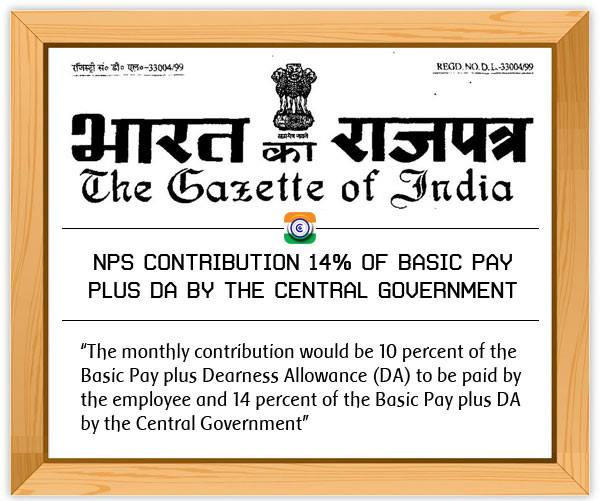 NPS-BasicPay-DA-Central-Government-Gazette-Notification