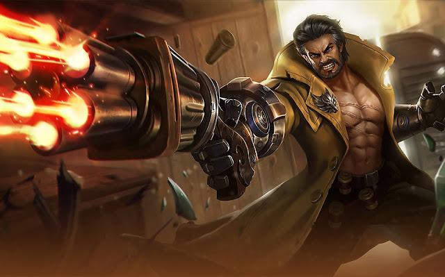 Roger Dire Wolf Hunter Heroes Fighter Marksman of Skins Mobile Legends Wallpaper HD for PC