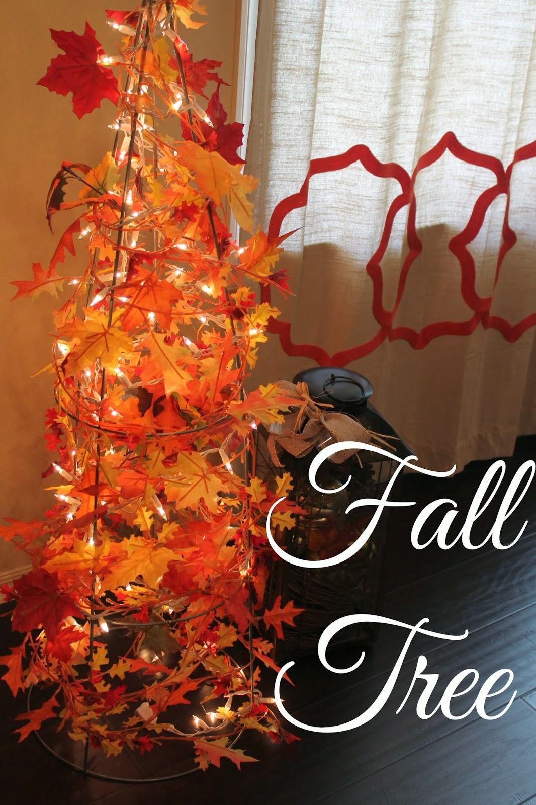 DIY Fall Tree
