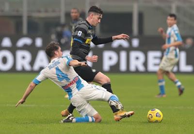 ملخص وهدف فوز إنتر ميلان علي نابولي (1-0) الدوري الايطالي