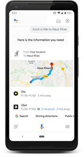 Now You Can Book A Cab Ride With Google Assistant.