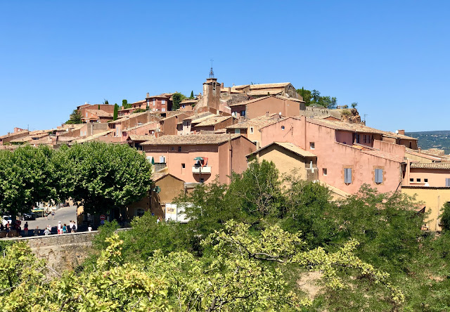 Roussillon Luberon Provence Franta